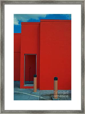 Electric Back Framed Print