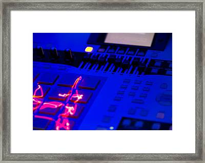 Electric Beats Framed Print by Michael Wilcox
