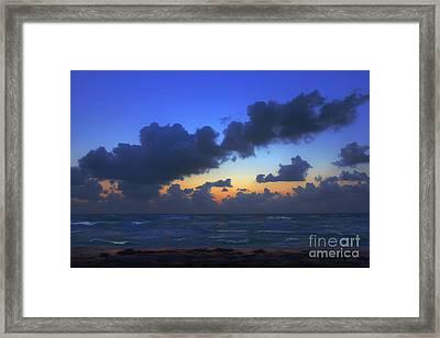 Electric Blue 2 Framed Print
