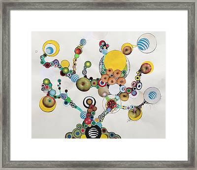 Electric Bonsai Framed Print