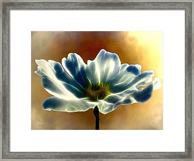 Electric Cosmos Framed Print