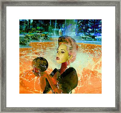 Electric Cyborg  Framed Print by Matthew Lacey