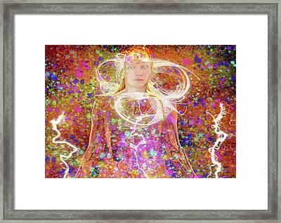 Electric Dreams Framed Print