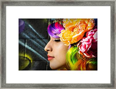 Electric Dreams Framed Print