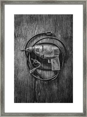 Electric Drill Motor Framed Print