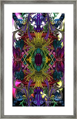 Electric Eye Framed Print