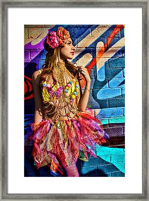 Electric Fantasy Framed Print
