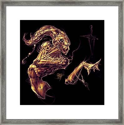 Electric Genie Framed Print by David Bollt