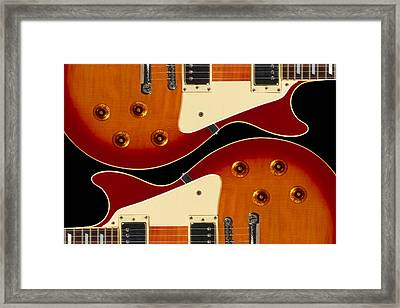 Electric Guitar II Framed Print by Mike McGlothlen