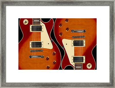 Electric Guitar IIi Framed Print by Mike McGlothlen