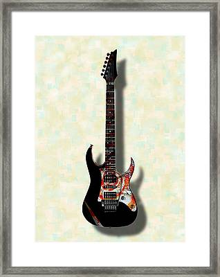 Electric Guitar - Musical Instruments Framed Print by Anastasiya Malakhova
