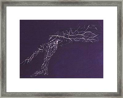 Electric Legs Framed Print by Contemporary Michael Angelo