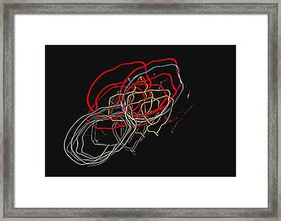 Framed Print featuring the photograph Electric Light by Steven Richardson