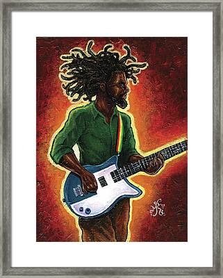 Electric Framed Print by Marcus Anderson