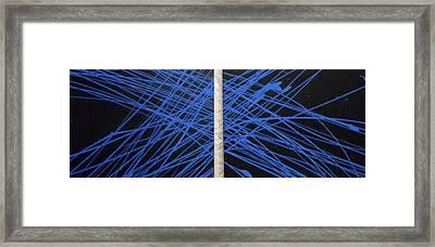 Electric Media Framed Print by CJ  Smalls