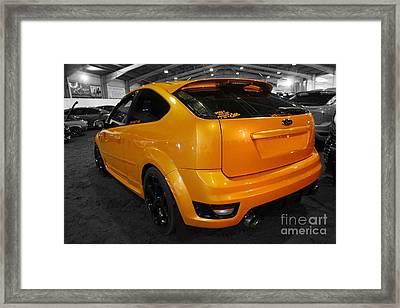 Electric Orange Framed Print by Vicki Spindler