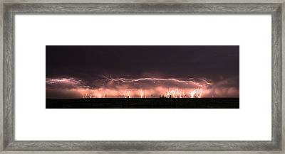 Electric Panoramic IIi Framed Print
