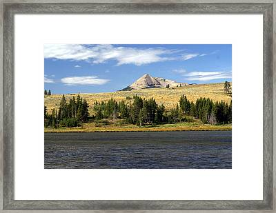 Electric Peak 1 Framed Print by Marty Koch
