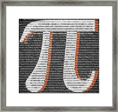 Electric Pi Framed Print by Dan Sproul