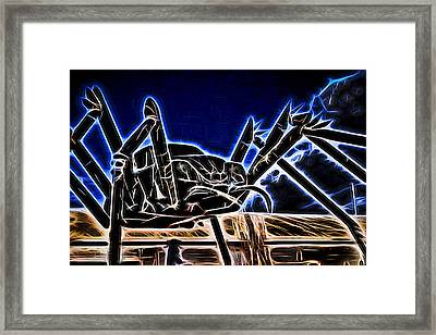 Electric Bug Framed Print by Scott Campbell