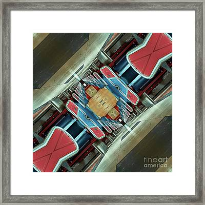 Upside Down Train Framed Print by Phil Perkins