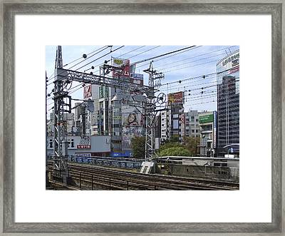 Electric Train Society -- Kansai Region Japan Framed Print