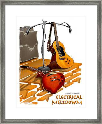 Electrical Meltdown Se Framed Print by Mike McGlothlen