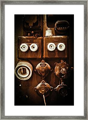 Electrical Panel Framed Print