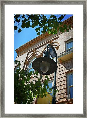 Framed Print featuring the photograph Electrifying  Architecture by Skip Willits