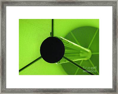 Electromagnetic Radiation Framed Print by Charles Dobbs