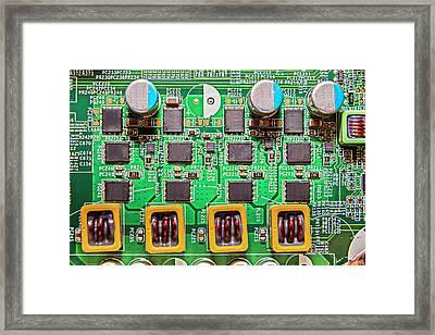 Electronic Framed Print