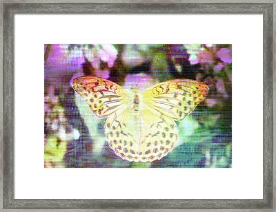 Framed Print featuring the digital art Electronic Wildlife  by Bee-Bee Deigner
