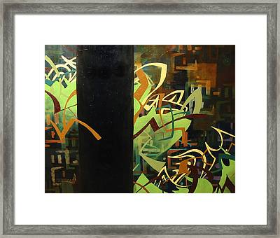 Electronica Framed Print by Monica James
