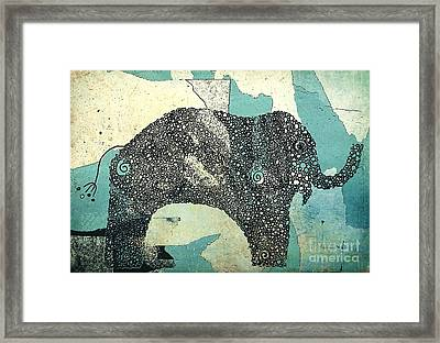 Elefanterie - 10abb Framed Print by Variance Collections