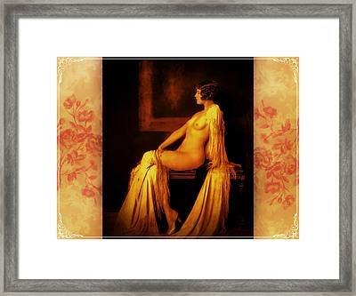 Framed Print featuring the photograph Elegance 2 by Mary Morawska