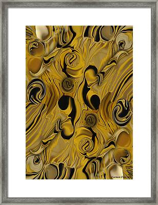 Elegance And Muse  Framed Print