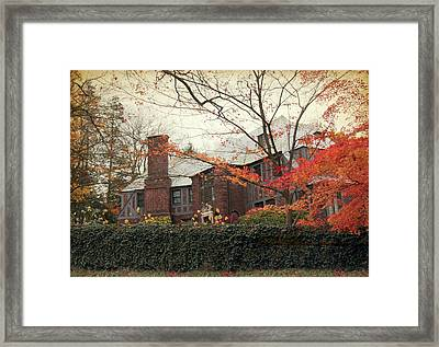 Elegance In Autumn Framed Print by Jessica Jenney