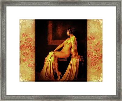 Framed Print featuring the photograph Elegance by Mary Morawska