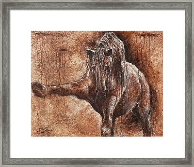Elegance Of Joy Framed Print by Paula Collewijn -  The Art of Horses