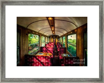 Elegance Past Framed Print by Adrian Evans