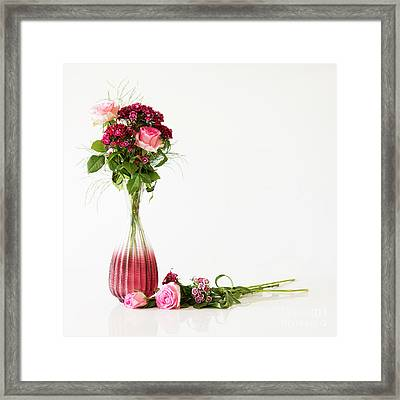 Framed Print featuring the photograph Elegance by Wendy Wilton