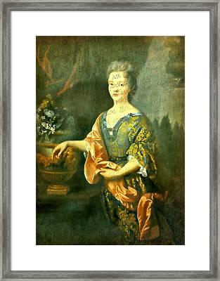 Elegant Lady Framed Print by Diana Angstadt