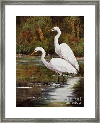 Elegant Reflections Framed Print
