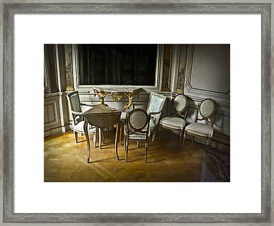 Elegent Disarray Framed Print