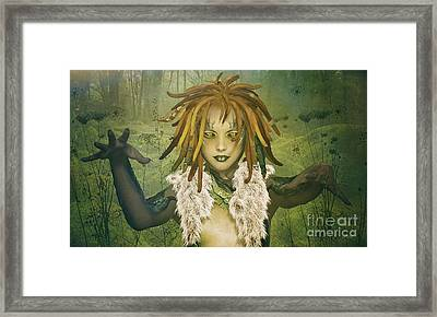 Element Earth Framed Print
