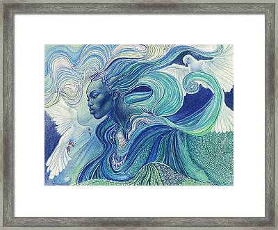 Element Of The Air Framed Print