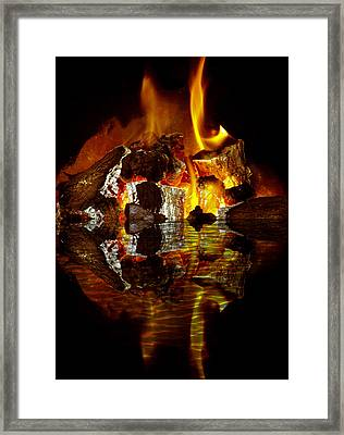 Element Reflections Framed Print by Tom Gowanlock
