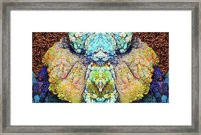 Elemental Being In Nature 1 Framed Print