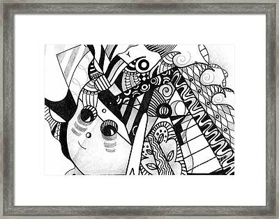 Elements At Play Framed Print