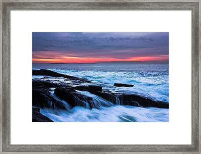 Elements Framed Print by Benjamin Williamson